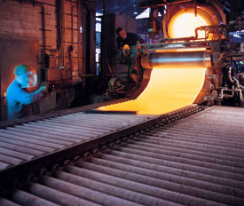 Continuous rolled plate glass | Van Ruysdael